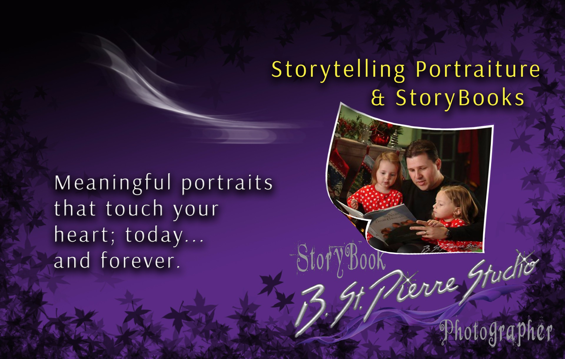 Storytelling Portraiture & StoryBooks
